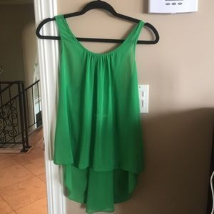 Super Cute Green Tank